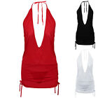 Sexy Women Sleeveless Bodycon Casual Party Evening Cocktail Short Mini Dress BR