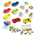 10 Packs of Erasers / Rubbers Party Bag & Loot Bag Fillers Children's Prize