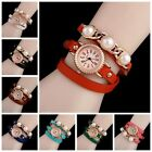 Hot Women Luxury Watches Vintage Multilayer Hollow link Bracelet Watch