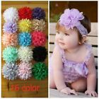 Kids Girls Baby Toddler Lace Flower Hair Headwear Accessories Cute