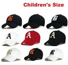 SNAP BACK Personalised Baseball Caps Hat Girls Boys Childrens kids Summer Sun