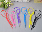 Pull Pin Bun Maker Clip Hair Styling Braid Ponytail Maker Styling Accessories