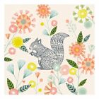 'Hiding Squirrel' by Bethan Janine Framed Graphic Art on Canvas