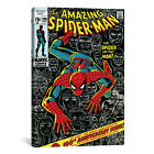 Marvel Comics Book Spider-Man Issue Cover #100 Graphic Art on Wrapped Canvas