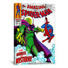 iCanvas Marvel Comic Book Spider-Man Issue Cover #66 Graphic Art on Canvas