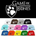 GAME of BONES Dog Shirt * 14 Color Choices * Puppy T-Shirt Pet Tee Apparel