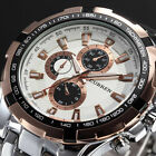 Curren Luxury Men`s Sport Stainless Steel Strap Quartz Analog Wrist Watch