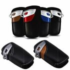 Real Leather Remote Key Case Cover Bag Holder For BMW Series 1 3 5 6 7 X1 X5 X6