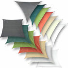 hanSe® Brand shade sails different colors and forms HDPE EN