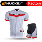 233 Nuckily Men's Mountain Bike Sports Short Sleeves Cycling Jersey+Shorts Set