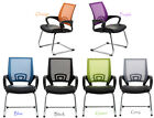 New multi colour Mesh Back leather look seat Home/Office task computer Chair