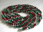 Plastic Christmas Garland~twisted Colorful Decoration-doorway,fireplace~wreath,