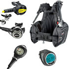 Mares Abyss 22x + Prestige + Mission 1 + Bcd Prime + Cressi Giotto Grey 02UK