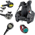 Mares Abyss 22x + Prestige + Mission 1 + Bcd Prime + Cressi Giotto Red 02UK