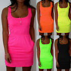 Sexy Women's Summer Casual Sleeveless Evening Party Beach Dress Mini Dress #A