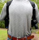 USA-MADE DELUXE MODEL SHOULDER HOLSTER RIG w/ DOUBLE MAG CARRIER - Choose Gun