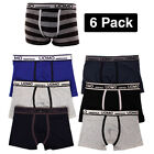 fashionable underwear - 6 Mens Boxer Briefs Underwear Stretch Fashion Trunk Short Bulge Lot M L XL 2X 3X