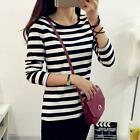 Fashion Women's Long Sleeve T-shirt Loose Casual Slim Shirt Tops Blouse CCA096