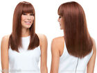 Medium Len Premium Remy Human Hair Monofilament Hand Tied Lea by Jon Renau Wigs