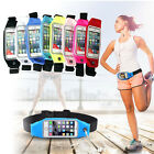 For Phones Running Jogging Sports Zipper Belt Soft Bum Waist Bag Case Waterproof
