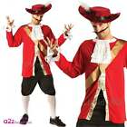 ADULT DISNEY PIRATE CAPTAIN HOOK BOOK WEEK MENS FANCY DRESS COSTUME OUTFIT FILM