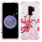 Cherry Blossom Sakura Spring Flowers Hybrid Durable Hard Phone Case Protector