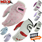 WOMEN'S GOLF GLOVES Soft Fit Cabretta Leather Lycra Women Golfer Glove LEFT HAND
