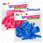 New 20 Pack HAPPY BIRTHDAY BALLOONS Celebration Party Occasions Latex Pink Blue✔