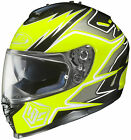 HJC IS-17 2014 Intake Helmet Hi Viz Yellow