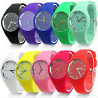 Mens Gents Womens Ladies Silicon/Rubber Wrist Watch UNISEX Shop image