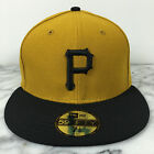 Pittsburgh Pirates Alt2 NEW ERA Authentic 59FIFTY MLB Fitted All Sizes Cap Hats