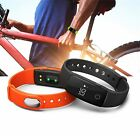 Bluetooth Fitness Activity Tracker Heart Rate Monitor Smart Band For iOS Android