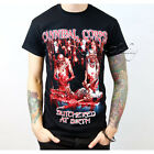 Cannibal Corpse Butchered at Birth Death Metal Band Mens T Shirt Top Tee Tours