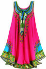 Long tunic dress ethnic bohemian fuchsia - INCA - Charleselie94