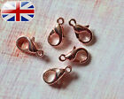 10mm,12mm,14mm & 30mm Lobster Claw Trigger Clasps Bag Charm Jewellery Findings.
