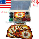 US Children Bakugan Battle Brawlers + Case With 9 Different Boy Bakugans Cards