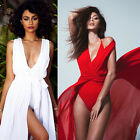 Sexy Summer Women Bathing Suit Chiffon Bikini Swimwear Cover Up Beach Dress Long