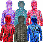 Regatta Printed Kids Pack-It Jacket Girls & Boys Multi Colours Waterproof