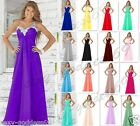 New bridesmaid Formal Evening Party Cocktail Gown prom Women's Dress Size 6-22