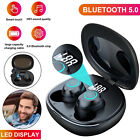TWS True Wireless Waterproof Earbuds Bluetooth 5.0 Headphones Noise Cancelling