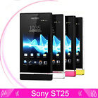 SONY Xperia U ST25 ST25i(Unlocked)8GB 3.5'' 5MP Android OS WiFi GPS 3G