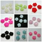 DIY 10PCS Resin Pearl flower rose Scrapbook Craft Flatback Beads DIY Wedding