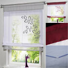 Embroidered  Roman Leaves Blinds Window Curtain Door Screen Room Devider