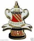 United CUP WINNERS 2016 Badge Selection Manchester v Palace F A Gift