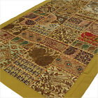 "LARGE SELECTION - 20 X 40"" BROWN EMBROIDERED TAPESTRY WALL HANGING Boho Decor"