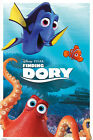 Findet Dorie - Finding Dory - Characters - Film Movie Kino Poster Druck Disney