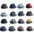 Men's Trilby Hats Mixed Colours and Textures Wholesale Bargains Summer Hats