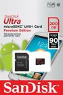2/4/8/16/32/64/128/200 GB SanDisk Ultra Extreme Pro C10 Micro SD SDHC/SDXC Card
