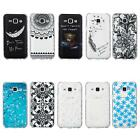 Painted Pattern TPU Soft Case Cover Back Skin For Samsung Galaxy J1/J5 STGG