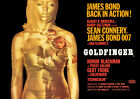 Goldfinger James Bond 007 Poster Print Borderless Stunning Vibrant A1 A2 A3 A4 £14.94 GBP